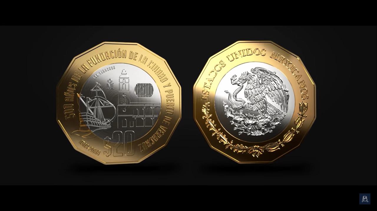 Monedas conmemorativas serán emitidas por la fundación de Tenochtitlán