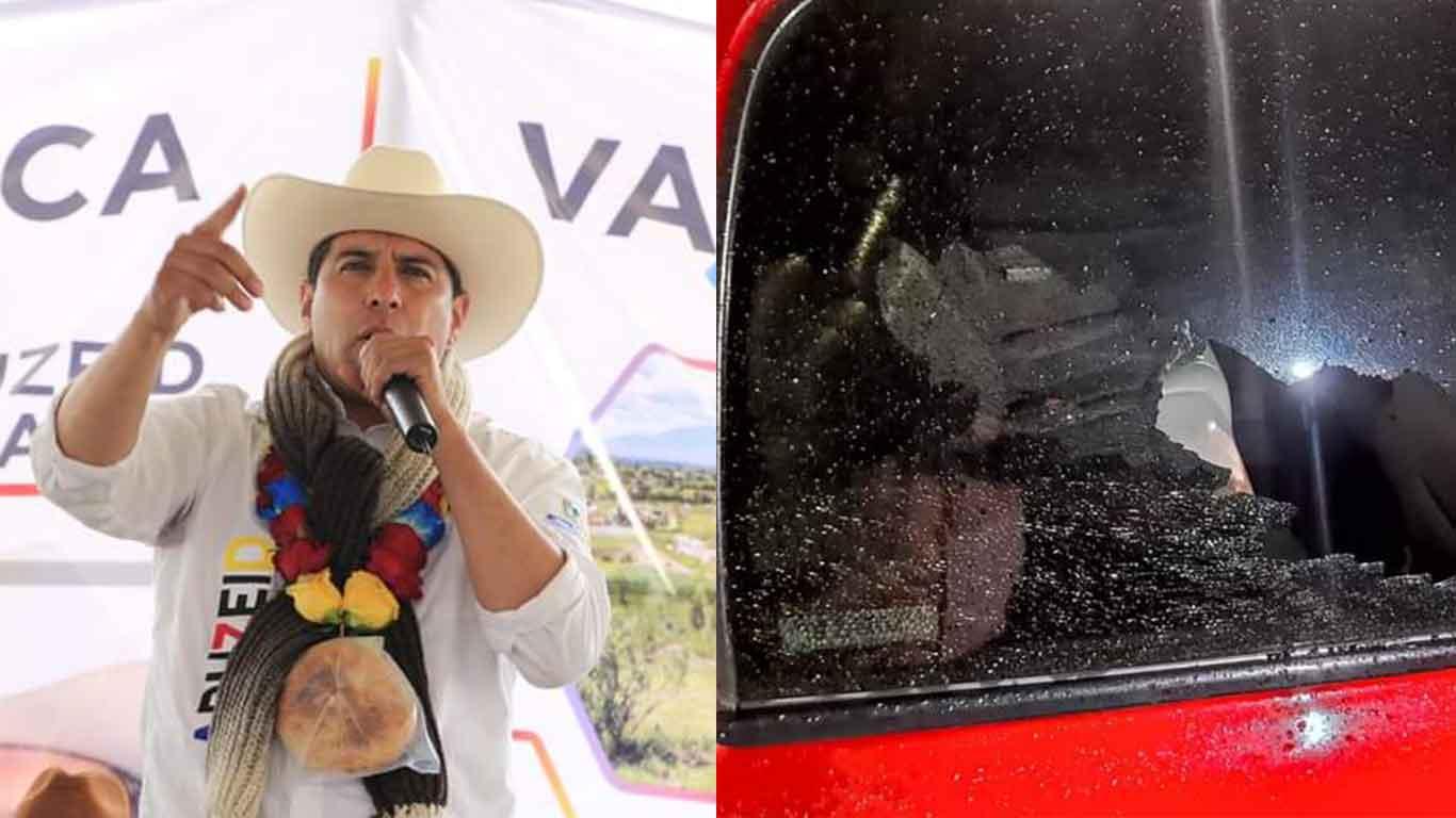 Candidato del Edomex sufre atentado a balazos | Elecciones 2021