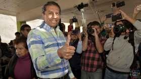 Juan Rodolfo saludando a la cámara