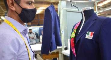 mexiquenses elaboran traje de comite olimpico para los juegos olimpicos de tokio 2021