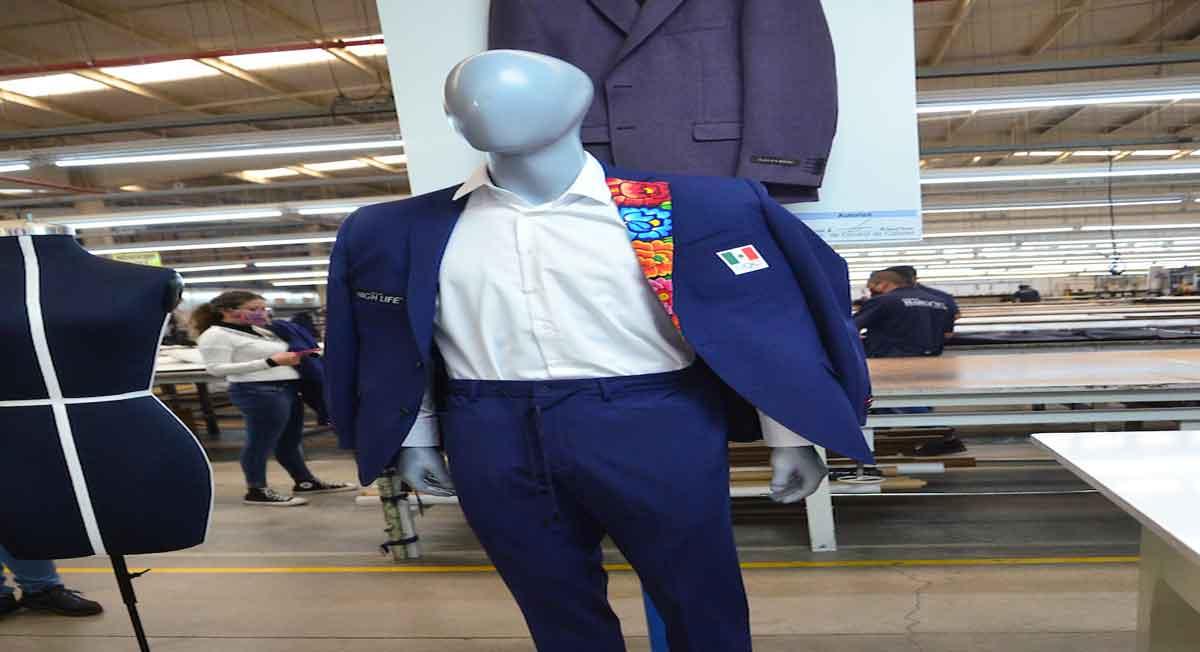 traje de gala para juegos olimpicos tokio 2021 es elaborado en el estado de méxico