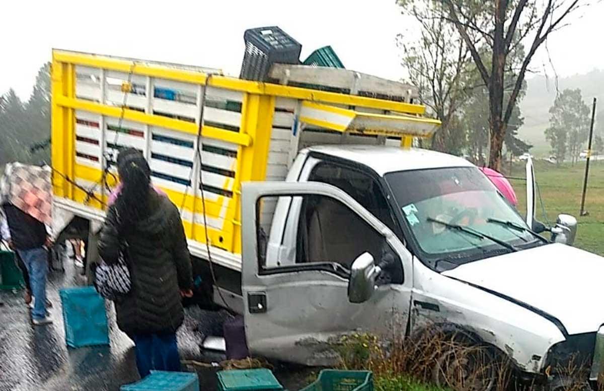 El accidente se sucito el día 3 de junio por la mañana