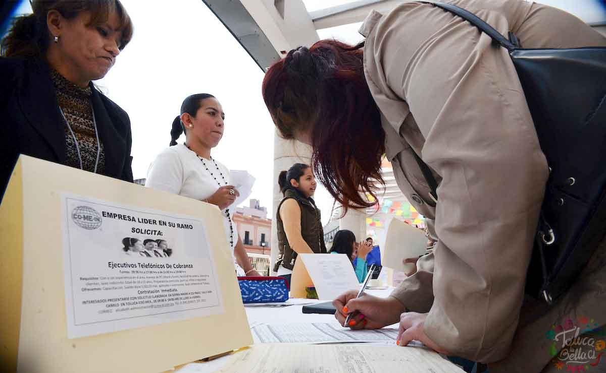 Bolsa de trabajo Toluca: Ofrecen vacantes de empleo con paga de hasta 10 mil pesos