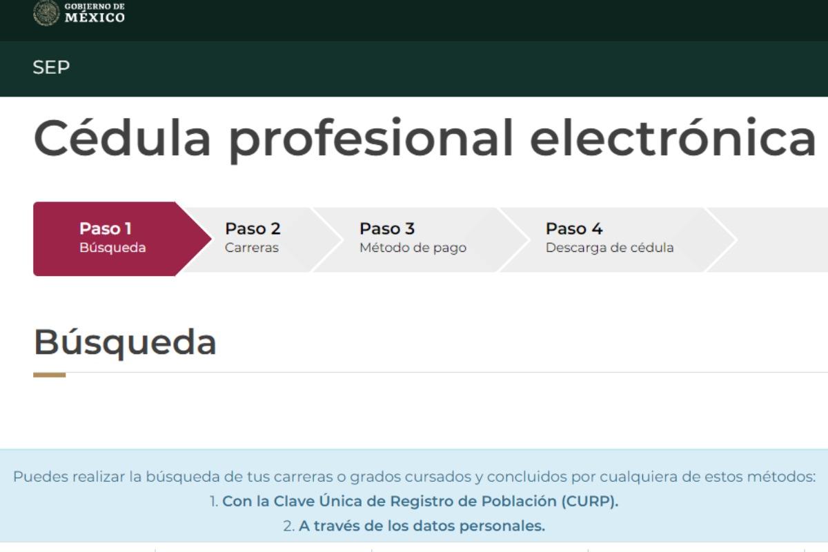 Cédula Profesional: ¿Cómo obtener un duplicado electrónico de este documento?