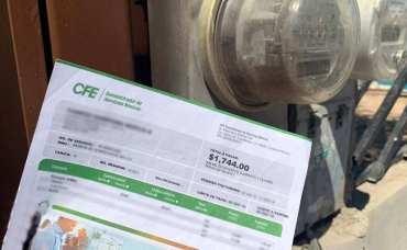 CFE dio a conocer algunas recomendaciones para ahorrar energía y dinero en el recibo de luz