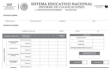 La SEP pone a disposición el Siged para consultar y descargar la boleta de calificaciones del ciclo escolar 2020-2021