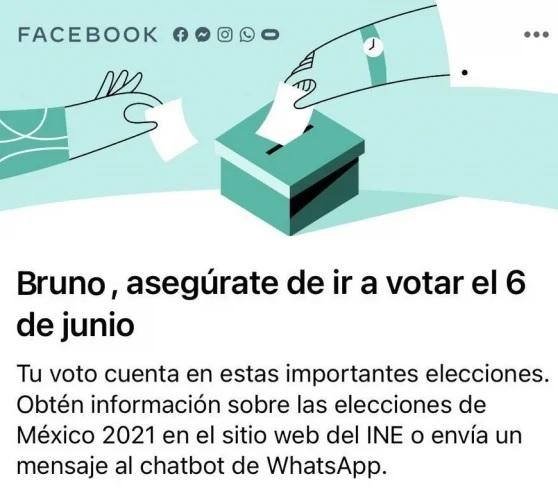 Facebook ha participado en más d 200 procesos electorales, fomentando la transparencia como en las elecciones 2021 en méxico