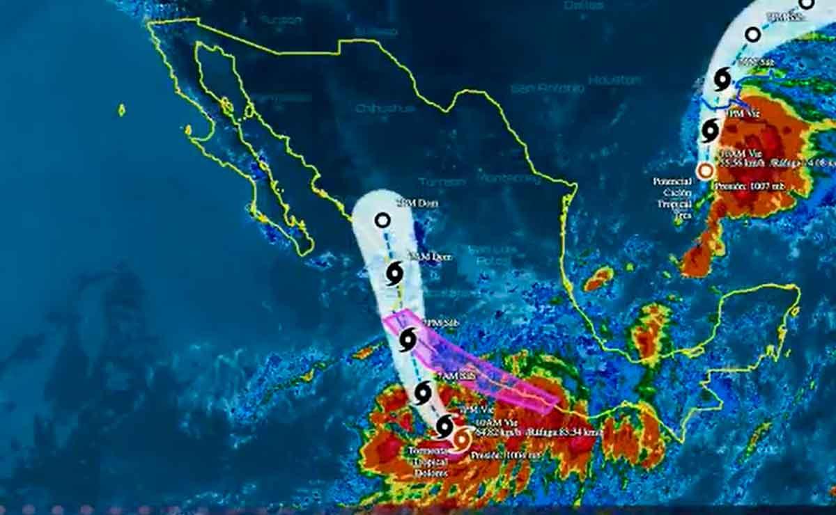 Emiten alerta tormenta tropical dolores.