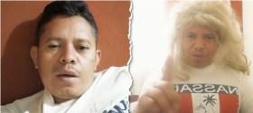 video viral tik tok hombre que interpreta a shakira