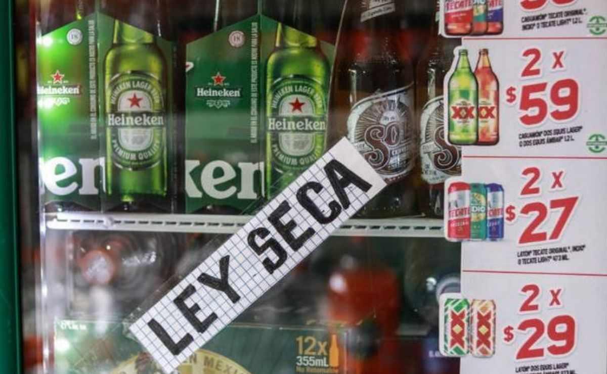 con la Ley Seca quedará prohibida la venta y consumo de bebidas alcohólicas en el municipio de Toluca durante el próximo fin de semana