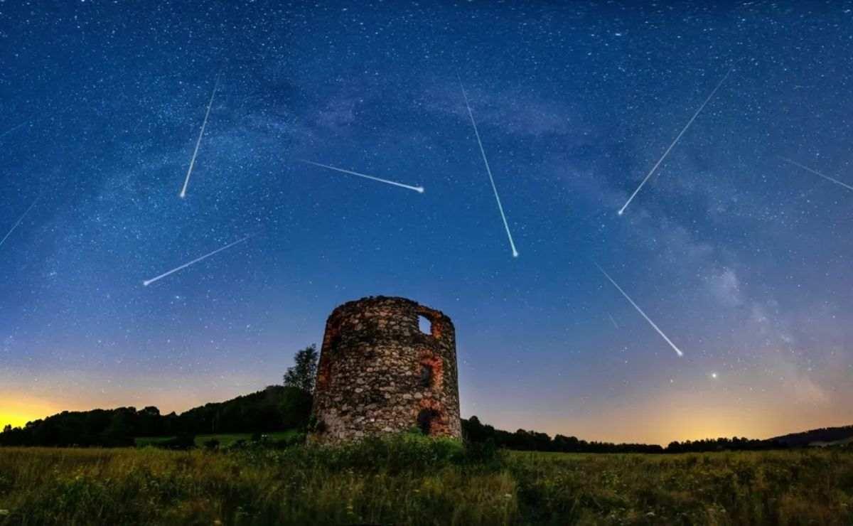 Lluvia de Estrellas y cometas son los fenómenos astronómicos julio 2021
