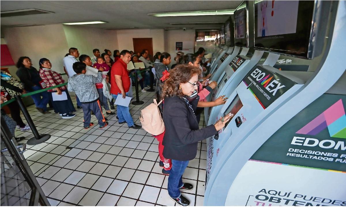 conoce la ubicacion de los 22 cajeros de actas de nacimiento en Toluca