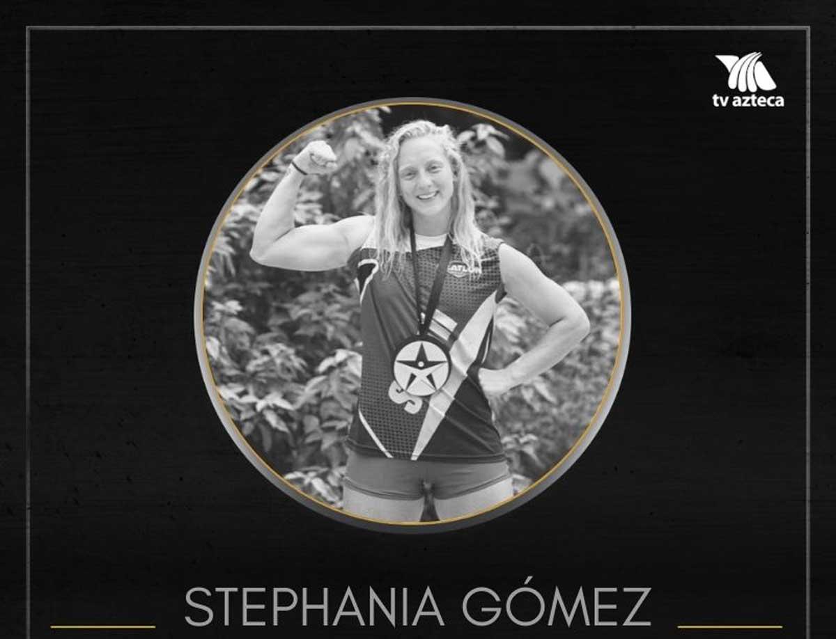 Murió Steph Gómez ex atleta del Exatlón