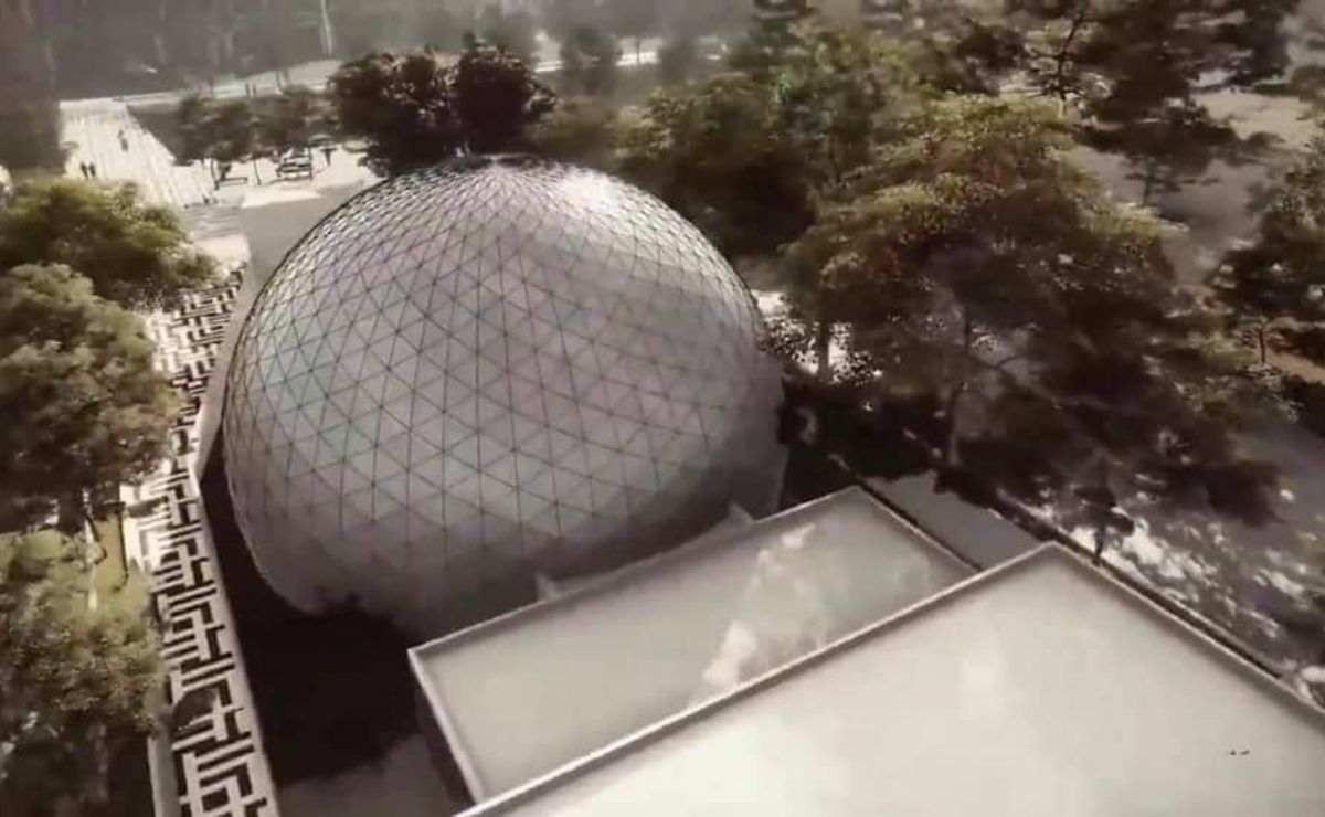 El parque tendrá una extensión de 24 mil metros cuadrados contará con áreas verdes y un planetario en pleno centro de la capital mexiquense.