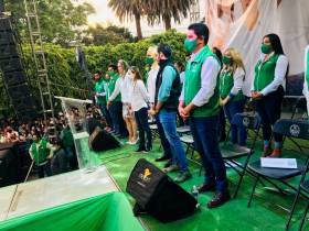 Partido Verde de México podría perder su registro por influencers