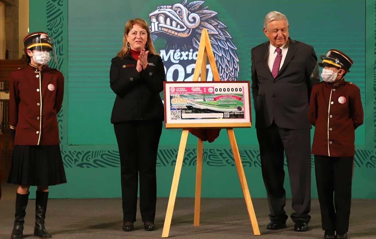 Conoce los premios que dará la Lotería Nacional el próximo 15 de septiembre