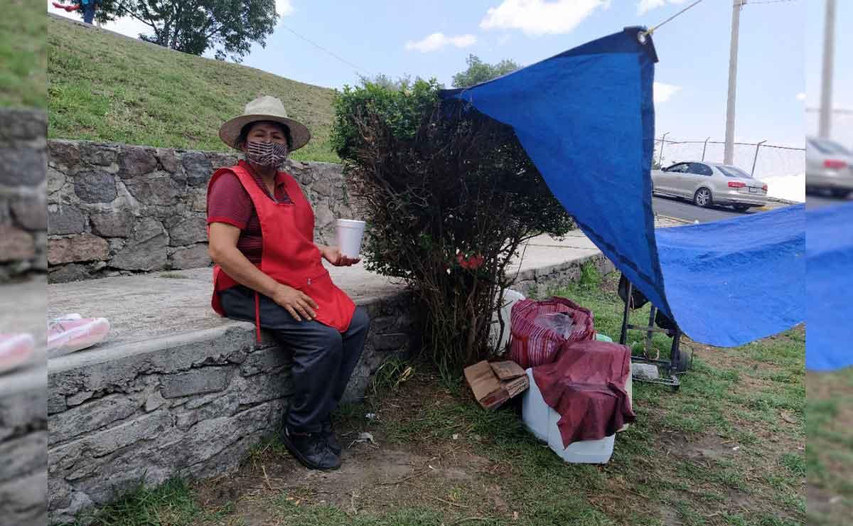 Pulque: Este es el mejor lugar de Toluca. Doña Mari vende esta bebida para mantener a su familia.