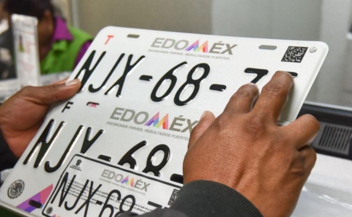 Todos los vehículos de servicio particular que porten placas de circulación expedidas en el año 2016 deben reemplacar en edomex 2021