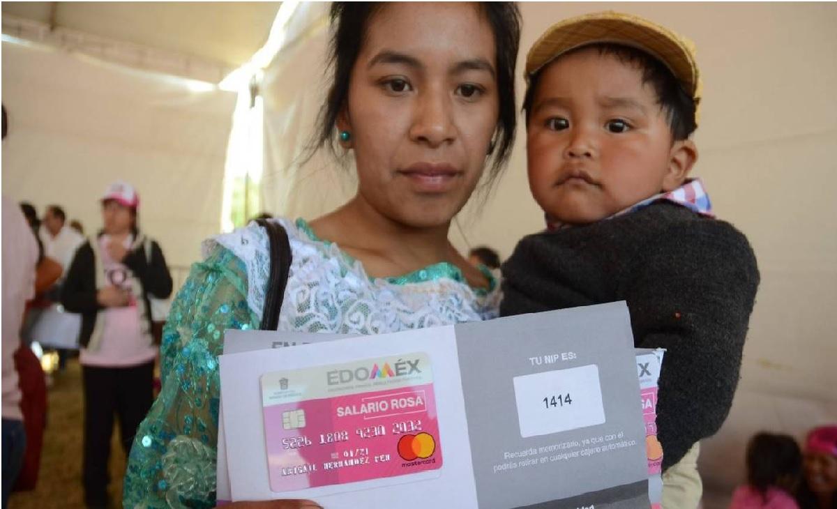 ¿Cómo solicitar los $2,400 pesos del Salario Rosa 2021 en Edomex?