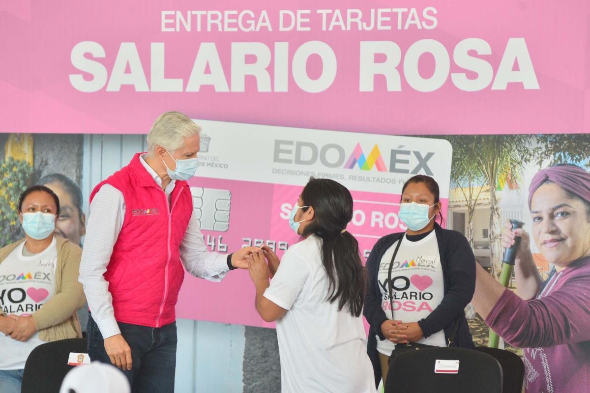 Salario Rosa EdoMéx: ¿Puedo solicitar el apoyo de $2,400 bimestrales si no vivo en el EdoMéx?