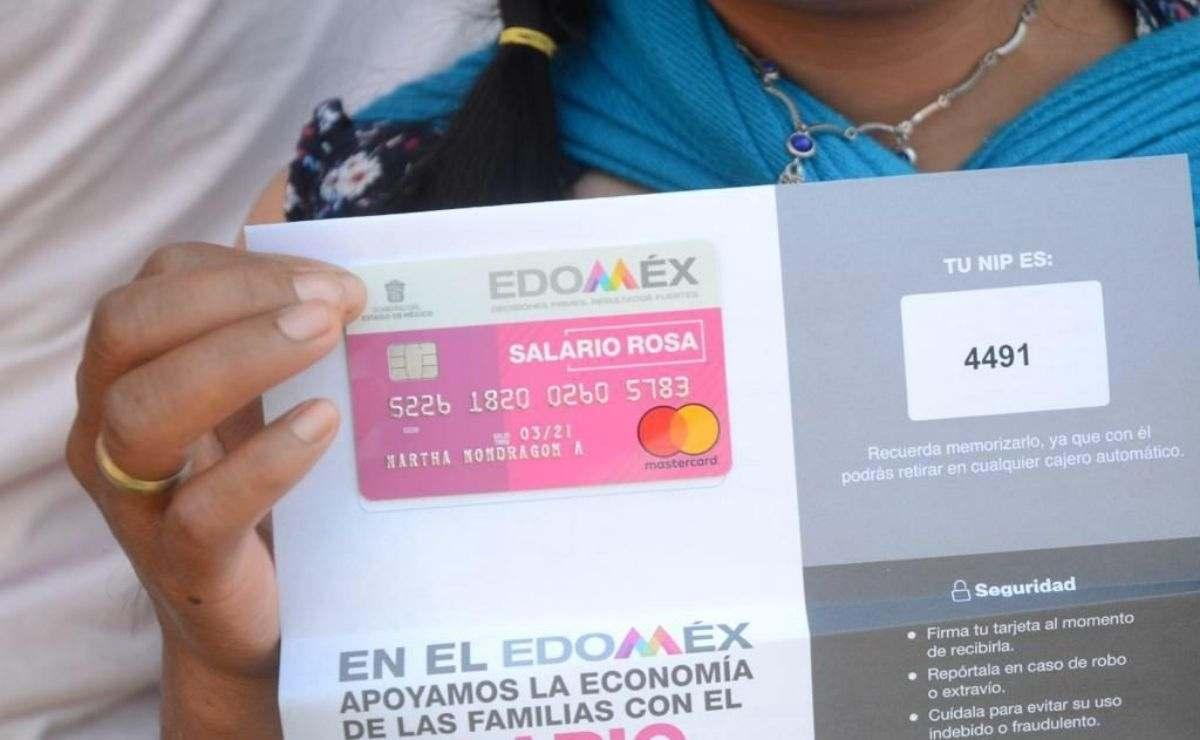 Salario Rosa Edomex 2021 - ¿Cómo tramitar apoyo de 2 mil 400 pesos?