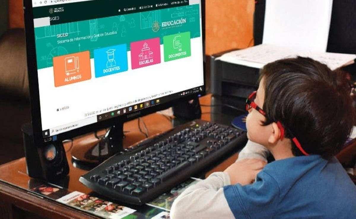 Una vez dentro del portal SIGED se podrán consultar las calificaciones correspondientes al ciclo escolar 2020-2021