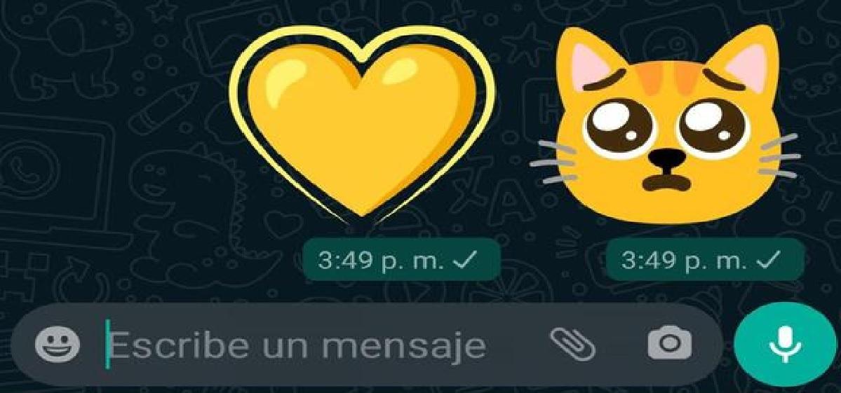 así de fácil puedes enviar emojis gigantes por whatsapp