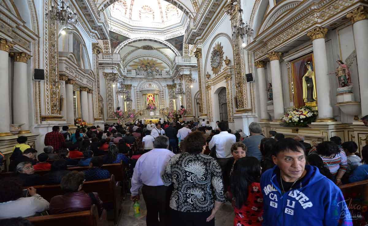 Vuelven fiestas patronales en Toluca.