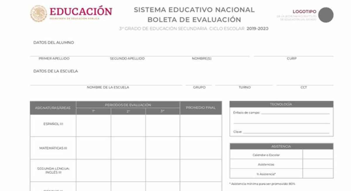 boleta de calificaciones ciclo escolar 2020-2021 ya se pueden descargar