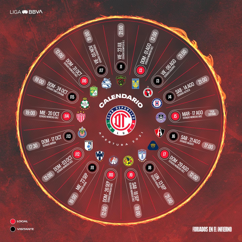 Calendario Diablo: El cuadro escarlata hará sentir el infierno en ocho partidos como local