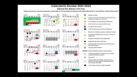 Calendario regreres a clases sep 2021