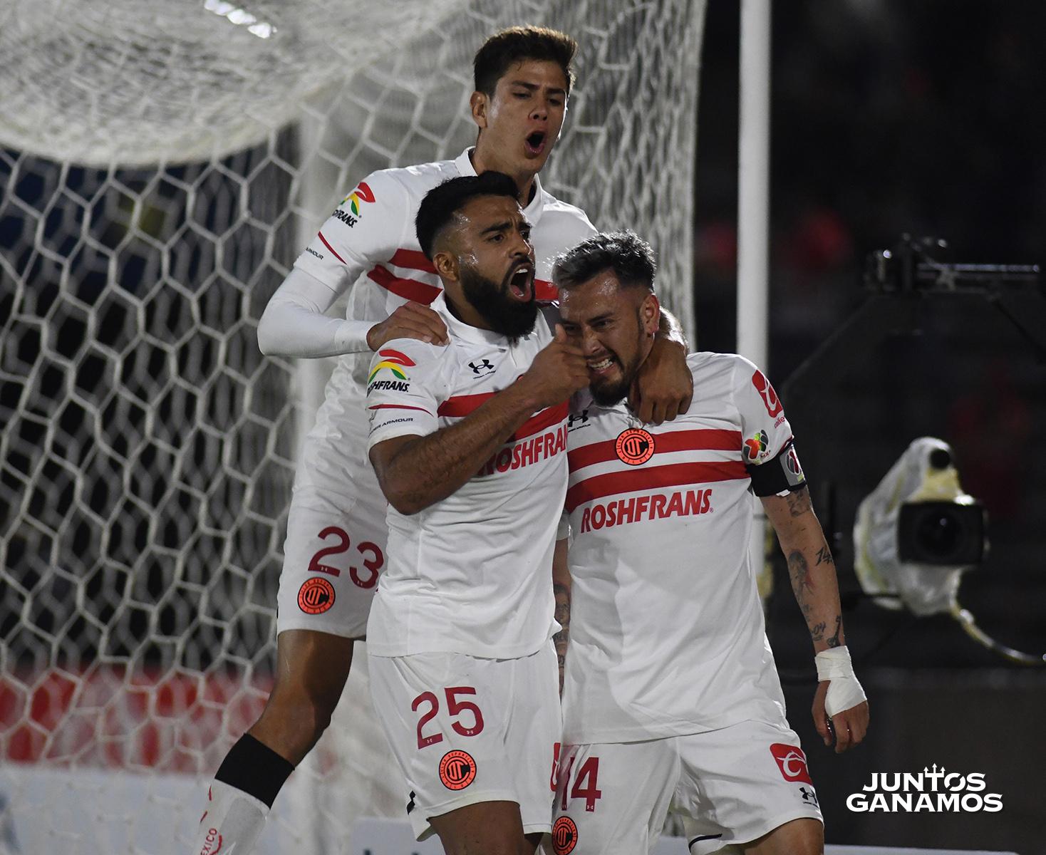 Los Diablos Rojos de Toluca logran su primer triunfo frente a FC Juárez