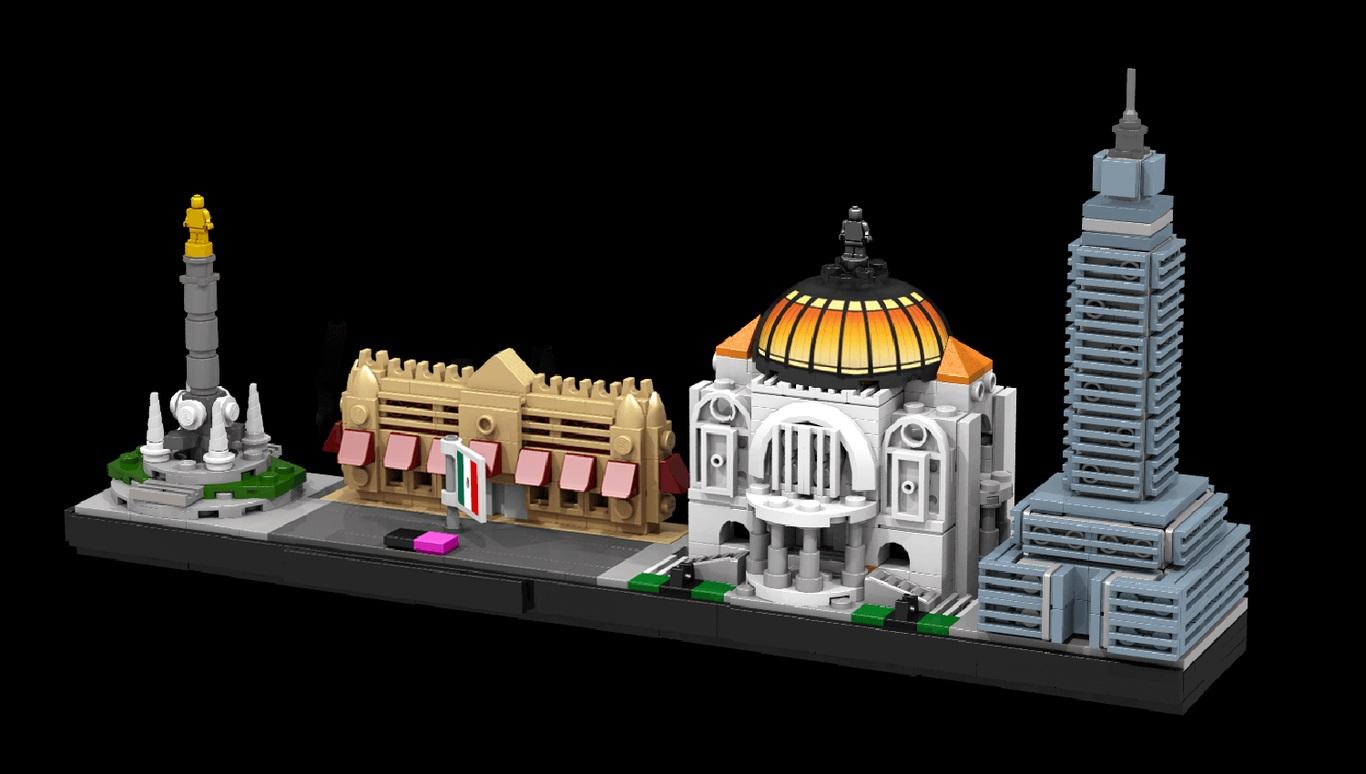 LEGO ESCULTURAS MÉXICO