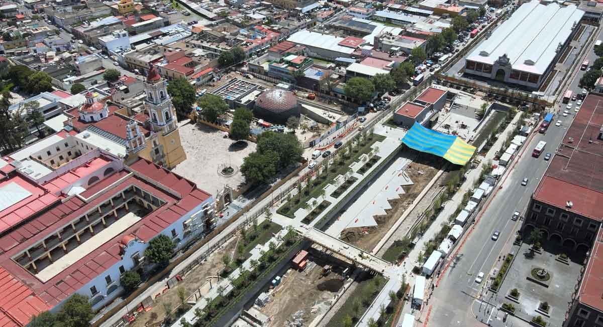 Estos son los avances del Parque de la Ciencia Toluca, no culminará en fecha prevista