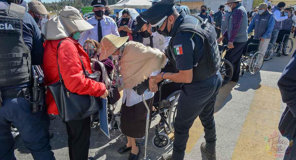 pensión para el bienestar de los adultos mayores sede estado de méxico
