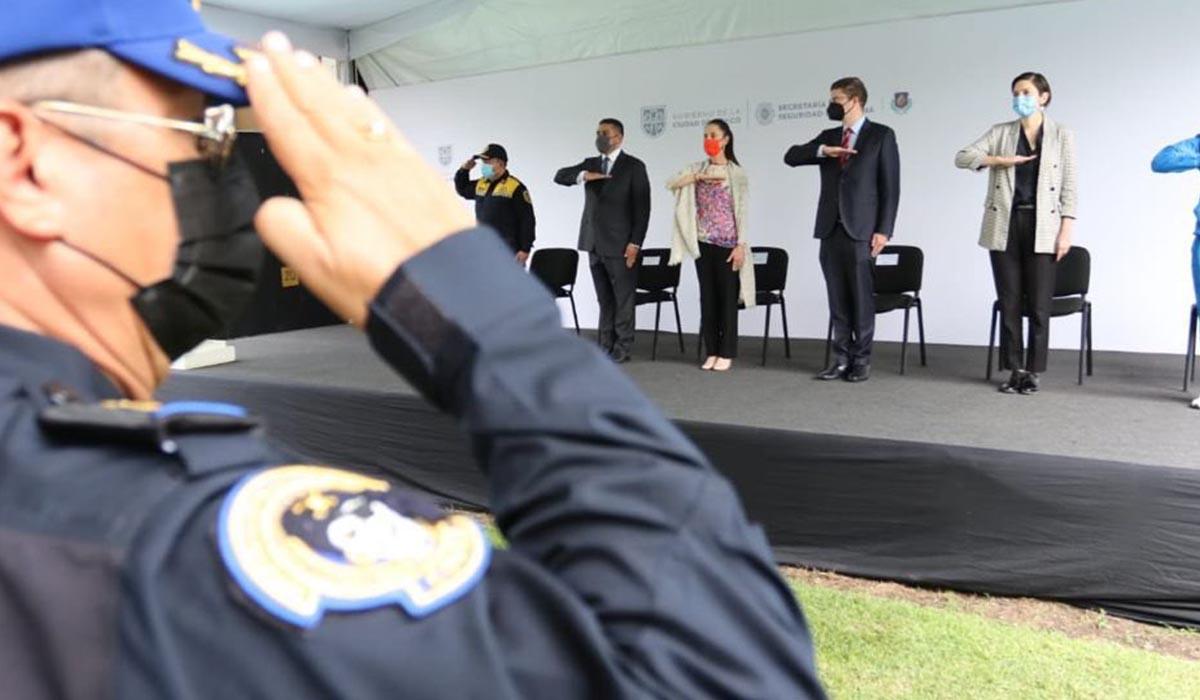 Policías de la CDMX son la mejor del país, dijo Claudia Sheinbaum