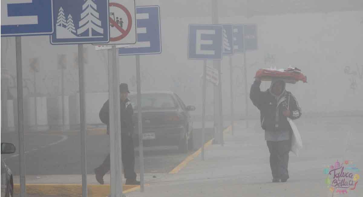 Toluca clima Pronostican bajas temperaturas para hoy y cielo cubierto