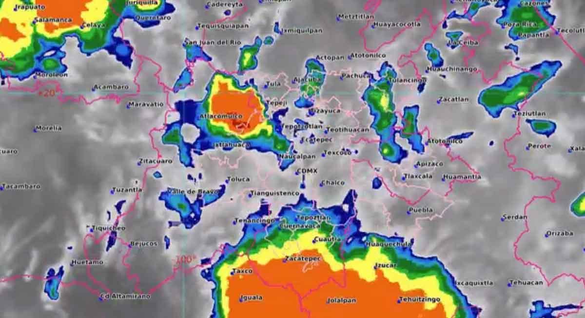 Toluca clima - Pronostican en una parte del día nublado y medio nublado