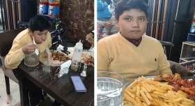 video viral de facebook de niño vomitando en concurso