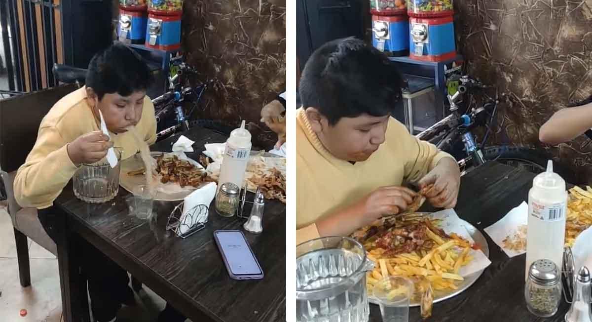 así fue como vomitó el joven en video viral de facebook