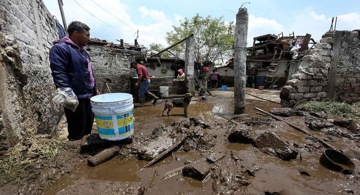 zinacantepec-asi fueron las afectaciones del desbordamiento del río tejalpa