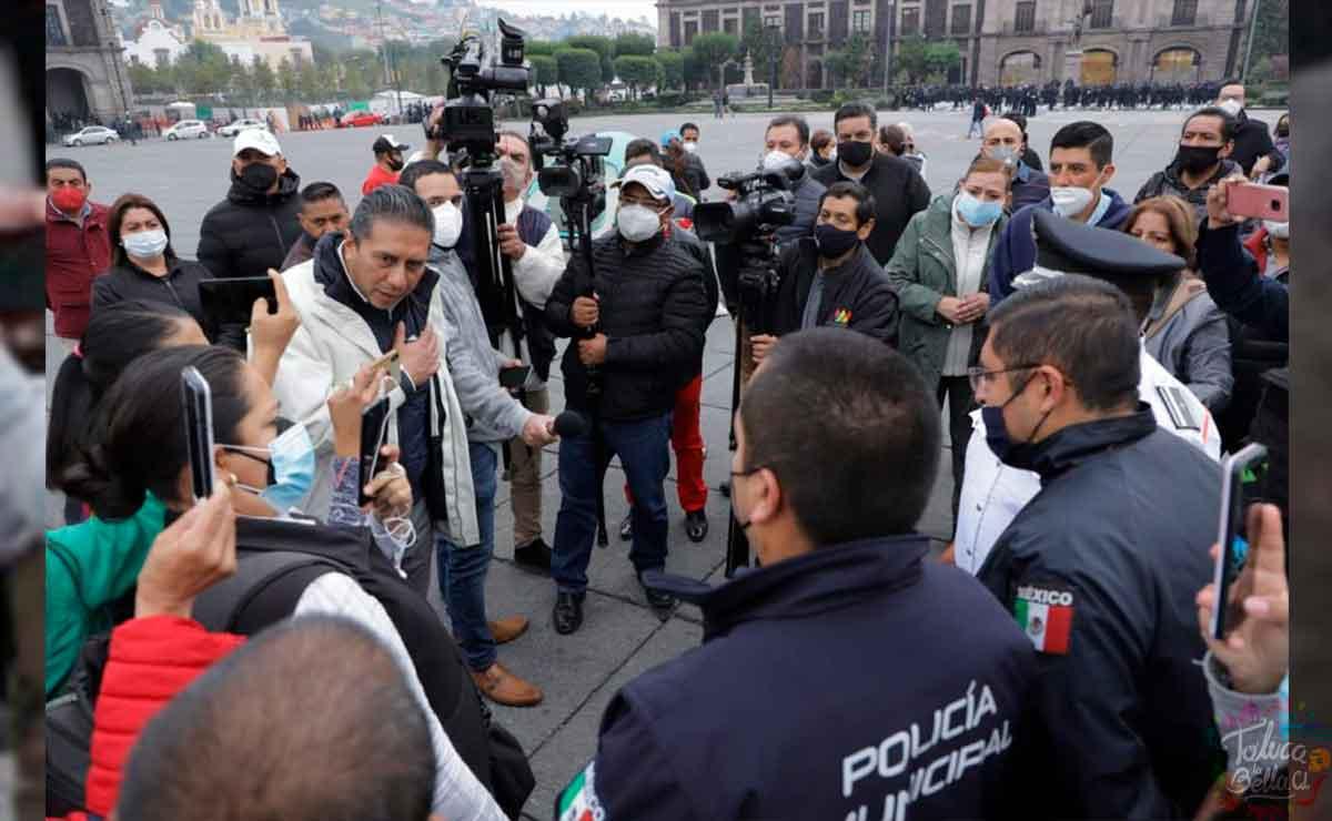 Alcalde de Toluca señala que el recurso se utilizó para la compra de votos en Edomex