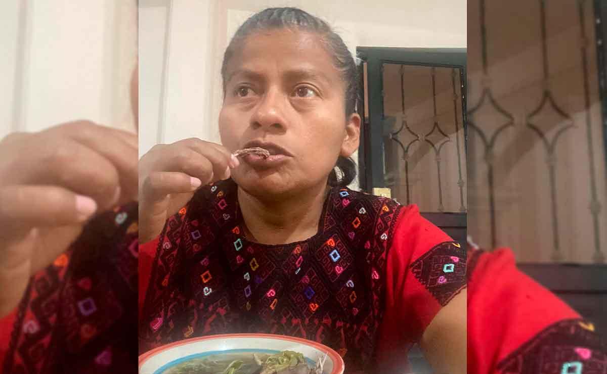 "¿Caldo de rata? Diputada de morena se vuelve viral por comer este ""manjar"""