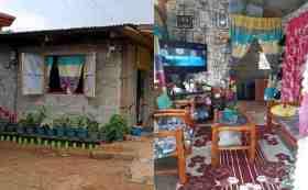 Se hace viral imagen de una casa humilde que es muy ordenada y limpia
