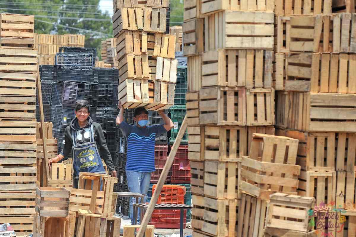 Central de Abastos de Toluca seguirá operando con normalidad a pesar del aumento en los contagios