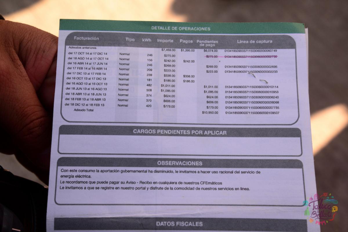 ¿Cómo descargar e imprimir mi recibo de CFE desde casa?