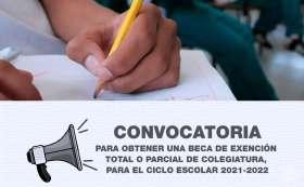 Convocatoria para escuelas particulares 2021.