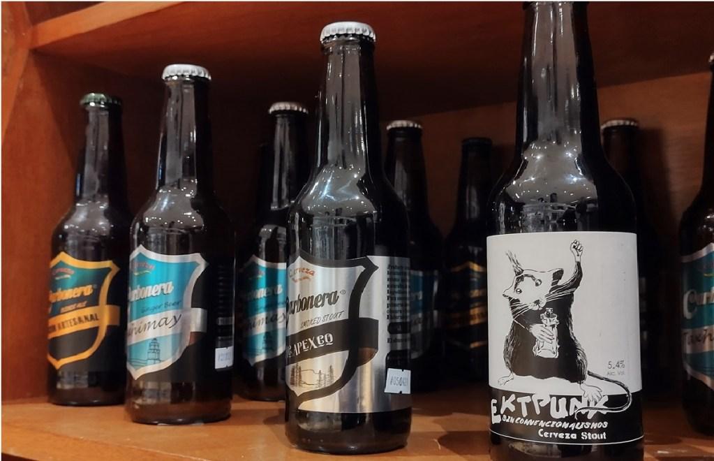 cervezas artesanales formadas
