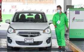 El aforo de vehículos disminuye en los centros de verificación del Edomex 2021