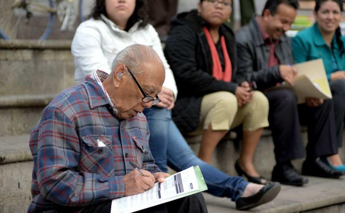 ¿Dónde están ubicados los módulos de registro para pensión de adultos mayores?